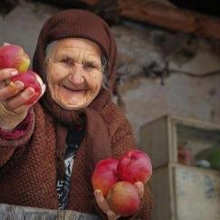 Ukrainka, ,babcia, mądrość